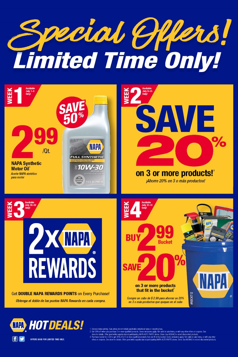 Welcome to Ridge NAPA Auto Parts. Shop at one of our 16 locations serving Northern Indiana and Southwest Michigan.