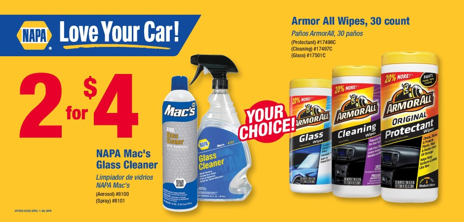 Dynaparts NAPA Auto Parts - GLASS CLEANER