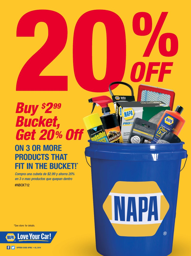 DYNAPARTS NAPA AUTO PARTS - BUCKET