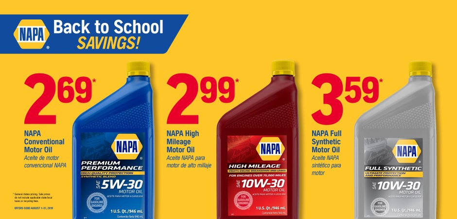 Dynaparts NAPA Auto Parts - napa oil