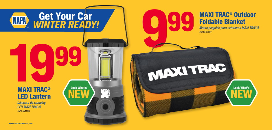 Dynaparts NAPA Auto Parts - camping stuff