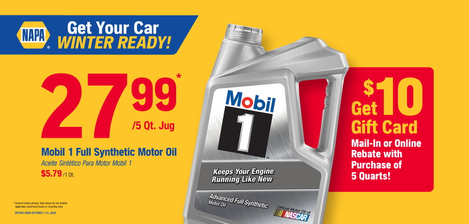 Dynaparts NAPA Auto Parts - mobil oil