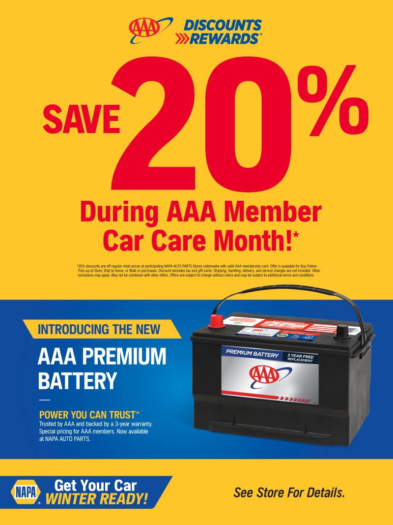 Wilsons Napa Auto Parts - battery