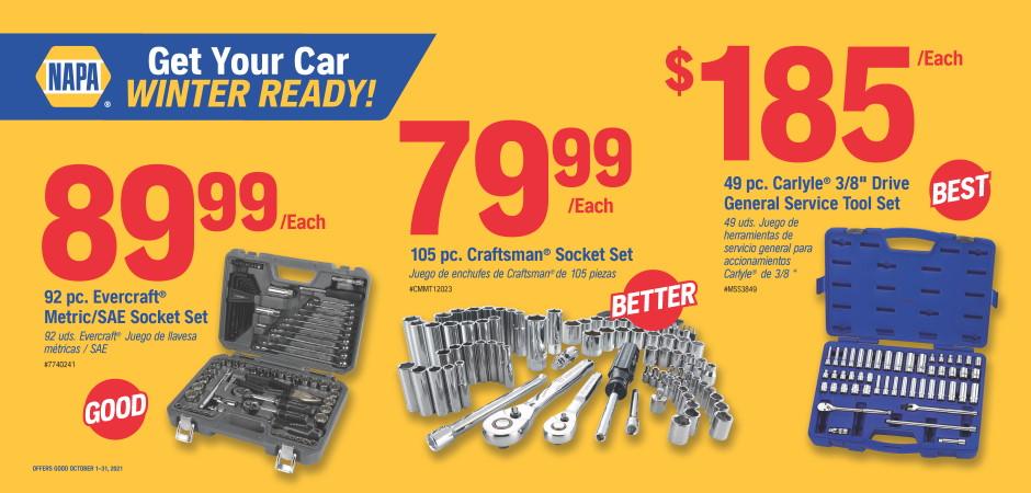 Dynaparts NAPA Auto Parts - Tools